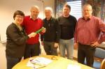 Hege Lothe, Jarle Skartun, Erling Bjørnetun, Kjell Ertresvåg og Olav Grov